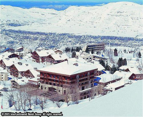 InterContinental Resort in Faraya Mzaar, Lebanon - snow season