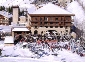 Faraya Mzaar ski resort's only 5 star hotel is the InterContinental Mzaar