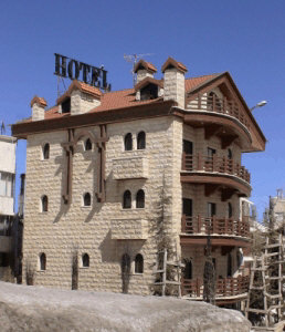 Merab Hotel at Faraya Mzaar ski resort